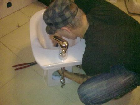 Подключение биде к канализации